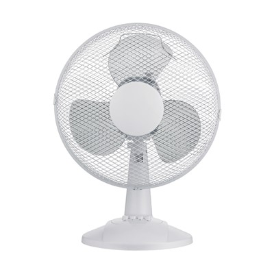"12"" Desk 3 Speed Oscillation Fan"