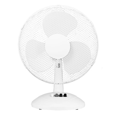"16"" 45W 3 SPEED WHITE TABLE FAN"